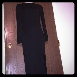 Nicki Minaj medium black dress